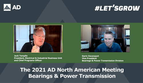 AD Bearings & Power Transmission Division members and suppliers strengthen relationships, focus on growth during virtual North American meeting