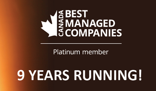 E.B. Horsman & Son named one of Canada's Best Managed Companies!