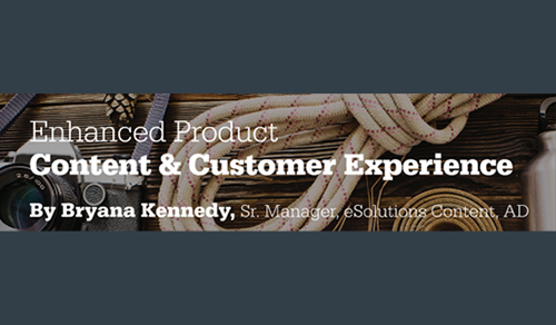 Enhanced Product Content & Customer Experience