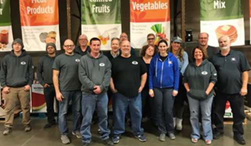 Hein Electric Supply Company Volunteers at Feeding America Eastern Wisconsin