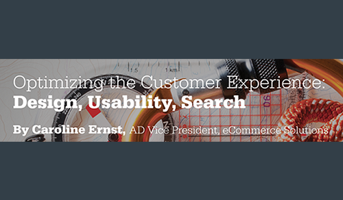 Optimizing the Customer Experience: Design, Usability, Search