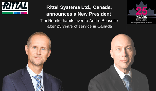 Rittal Systems Ltd., Canada, announces a New President