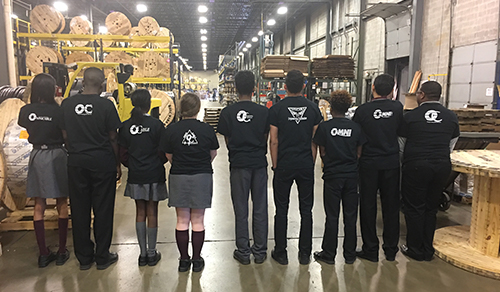 AD News: Mercy CTE Students Design Secondary Logo for Omni Cable