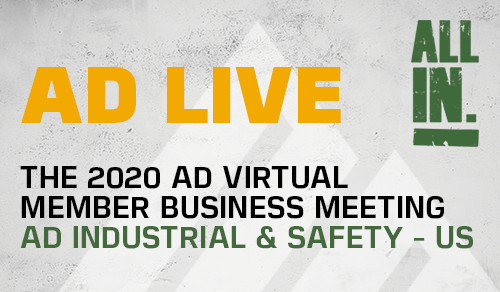 AD hosts over 250 attendees at first ever live virtual member meeting