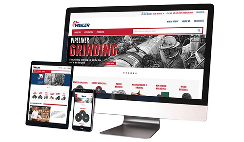 Weiler Abrasives Launches New Website